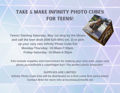Teen Take and Make Infinity Photo Cube