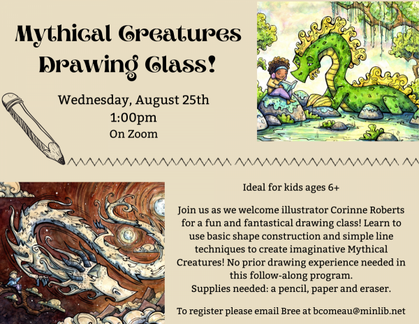 Mythical Creatures Drawing Class