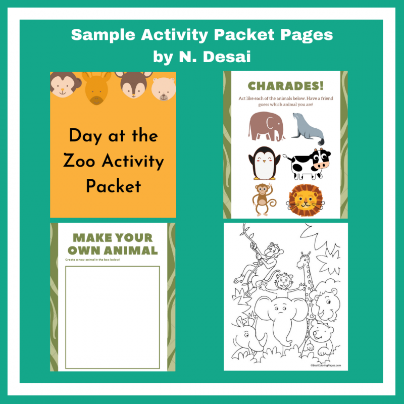 Sample Activity Packet
