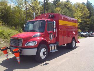 Water Department Utility Truck