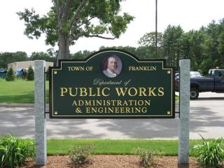 DPW Administrative Sign