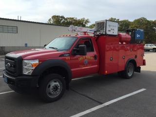Sewer Department Utility Truck