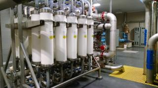 Ultrafiltration Membranes at the Water Treatment Plant