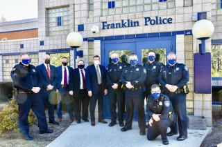 Franklin Police receive Certification from the Massachusetts Police Accreditation Commission